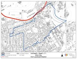 Ohio City Map Cleveland City Planning Commission