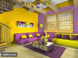 yellow decor ideas purple and yellow decor this yellow and purple room is very cool