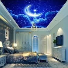Wallpaper Livingroom by Online Get Cheap Blue Star Wallpaper Aliexpress Com Alibaba Group
