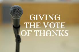 speech on thanksgiving how to give a vote of thanks hubpages