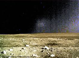 Moon Flag From Earth Chang U0027e 3 First Image Dec15 Digital Full Scale Enhanced3 X Jpg