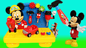 mickey mouse clubhouse disney handy helper workbench toy tools by