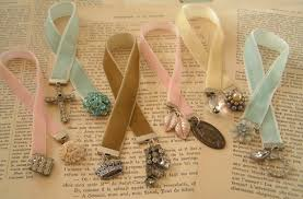 ribbon bookmarks everyday beauty bookmark bijoux