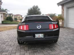 Blacked Out 2014 Mustang Slp Rear Blackout The Mustang Source Ford Mustang Forums