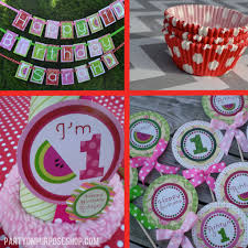 Birthday Party Decoration Ideas For Adults Watermelon Party Ideas Party On Purpose