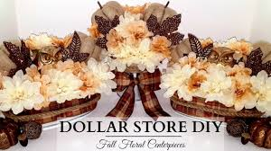 Fall Floral Decorations - dollar store diy u0027s neutral fall floral centerpieces elegant