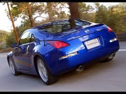 blue nissan 350z with black rims 3dtuning of nissan 350z z33 coupe 2003 3dtuning com unique on