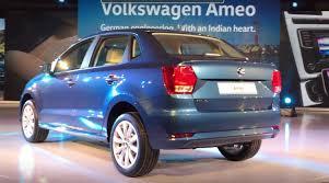volkswagen ameo colours 2016 volkswagen ameo revealed in india targets sub 4 meter sedan