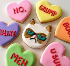 Grumpy Cat Meme Valentines Day - valentine s day this is for all the unmarried people never