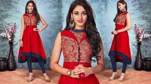 kurti pattern for fat ladies designer kurtis with different styles cuts latest designer kurta