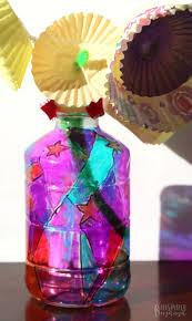 funky flower vase plastic bottle craft for kids b inspired mama