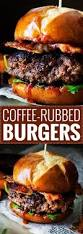coffee rubbed burgers with dr pepper bbq sauce not your average