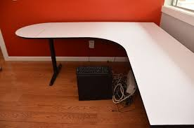 restoring an old desk with a new laminate surface 7 steps with