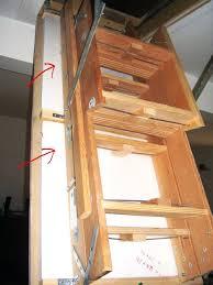 49 pull down stairs attic retractable attic ladder newsonairorg