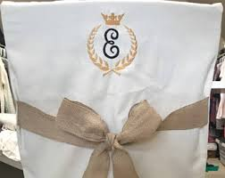 desk chair covers monogrammed chair back cover personalized