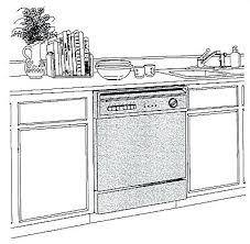 Dishwasher Dimensions Standard Size Home dishwasher dimensions standard dishwasher size cm standard