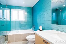 blue bathroom blue tiles bathroom minimalist decor lentine marine 1558