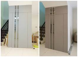 mod鑞es cuisine ikea partition doublesided entrancedoor hiddendoor plywood