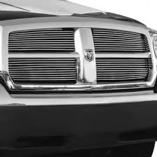 dodge dakota black grill 2005 dodge dakota custom grilles billet mesh led chrome black