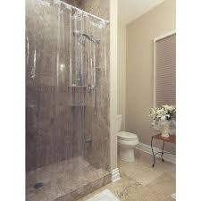Extra Long Shower Curtains For Walk In Showers Shower Curtains Shower Accessories The Home Depot