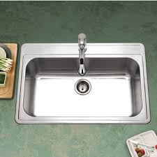 DropIn Kitchen Sinks Buy DropIn Sinks In Stainless Steel Fire - Drop in single bowl kitchen sinks