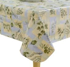 Outdoor Tablecloths For Umbrella Tables by Amazon Com Elrene Home Fashions 37706mlt Leaf Melody Outdoor