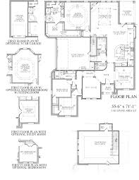 the tarragon spring lake estates new home floor plan mansfield tx