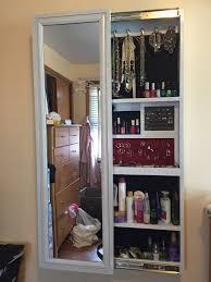 floor length mirror cabinet full length mirror jewelry cabinet diy gallery of jewelry