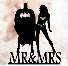 batman wedding cake toppers personalized woman and batman wedding birthday cake toppers