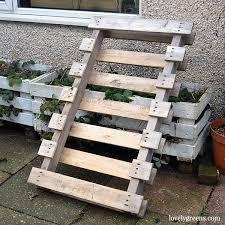 diy pallet wood potting bench lovely greens
