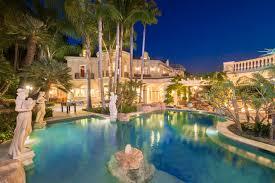 tour a european style villa with a palatial pool backyard