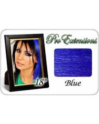 pro extensions amazing deal on pro extensions 18 blue highlight streaks clip in