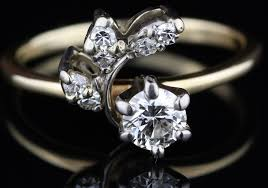 pre owned engagement rings pre owned diamond engagement ring