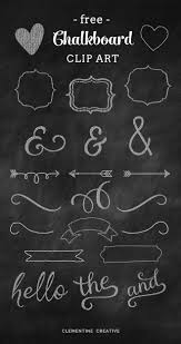Decorative Chalkboard For Home by Free Chalkboard Clip Art Graphics Chalkboards Clip Art And Creative