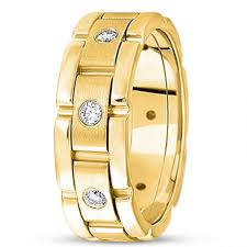 mens wedding bands gold tags platinum wedding