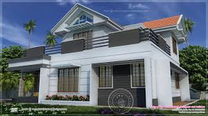 two storey villa with traditional and contemporary elements