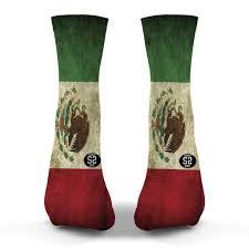 Mwxican Flag Savvysox Custom Socks