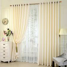 Beige And White Curtains Modern Curtains And Drapes Are Colored In Beige Color