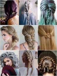 inspiration 2 hairstyles for medium or long hair u2013 many
