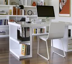 Contemporary Home Office Desks Modern Home Office Desk White Thediapercake Home Trend
