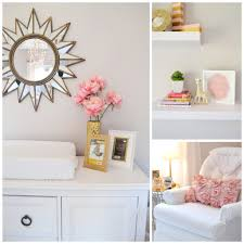 leighton kate u0027s pink and gold nursery gold nursery sunburst