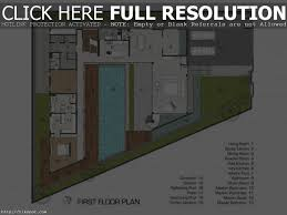House With Central Courtyard U Shaped Ranch Houses Houseplans Com House Plans With Swimming