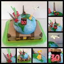30 best amazing cakes travel themed images travel