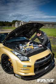 Nissan Gtr Gold - 1100bhp top secret nissan gt r fast car