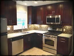 kitchen colors with dark cabinets ash wood unfinished shaker door kitchen ideas dark cabinets