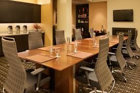fantastic combination of conference table design with wooden glass