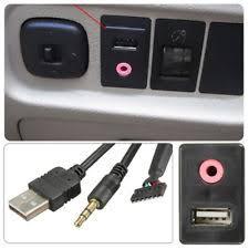 Usb Port For Car Dash Aux Usb Adapter Ebay