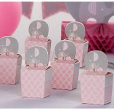 baby shower keepsakes baby shower favor boxes bags containers party city