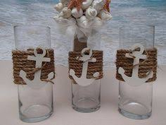Sailboat Centerpieces Nautical Theme - nautical table centerpiece with wedding date anchor www