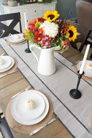thanksgiving table scape 3 simple style options grace in my space